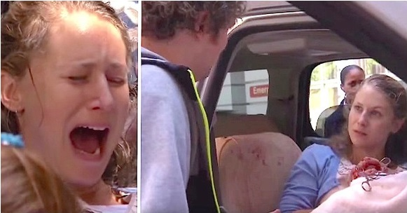O femeie a intrat în TRAVALIU așa că soțul acesteia a urcat-o în mașină să o ducă la spital, însă cel mic nu a mai așteptat și a decis să apară pe drum. Ce i-a spus proaspătul tătic soției sale pentru că i-a născut în mașină e INCREDIBIL