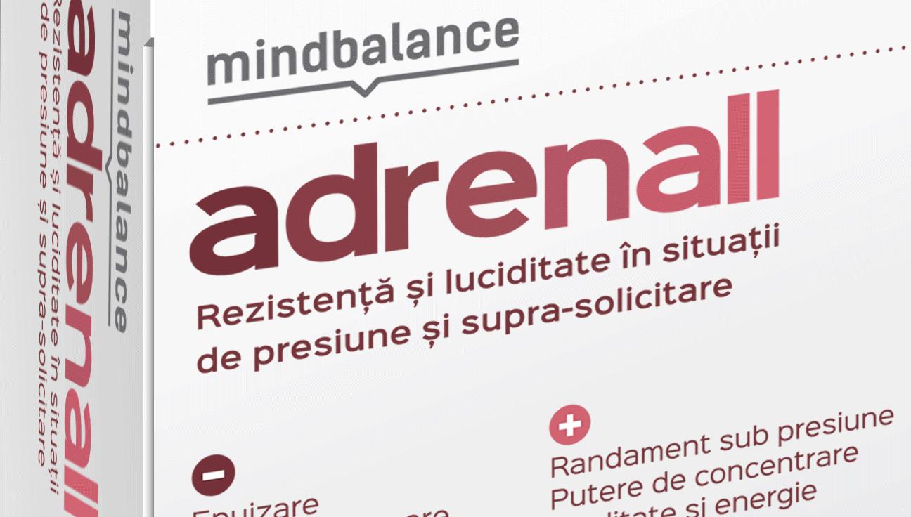 MINDBALANCE lansează ADRENALL – nutraceutic 100% natural pentru un nivel optim de energie pe întreg parcursul zilei