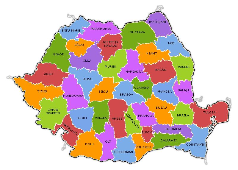România_Judeţe