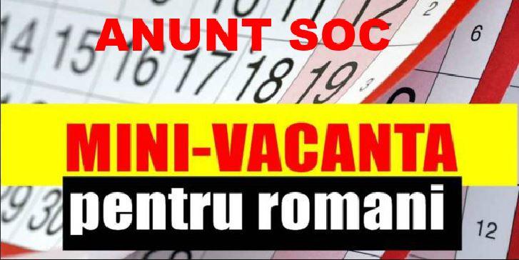 Ministerul Muncii a făcut anunțul oficial! Ce se întâmplă cu următoarea minivacanță? Vestea distruge planurile românilor