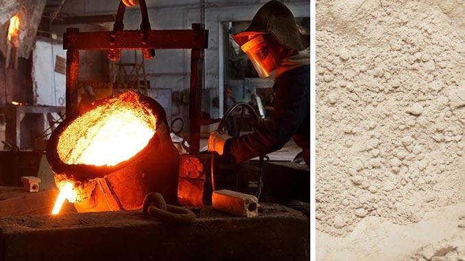 Bentonită Sodică PREMIUM: cea mai bună bentonită din lume pentru piese cu geometrii complexe în turnătorii