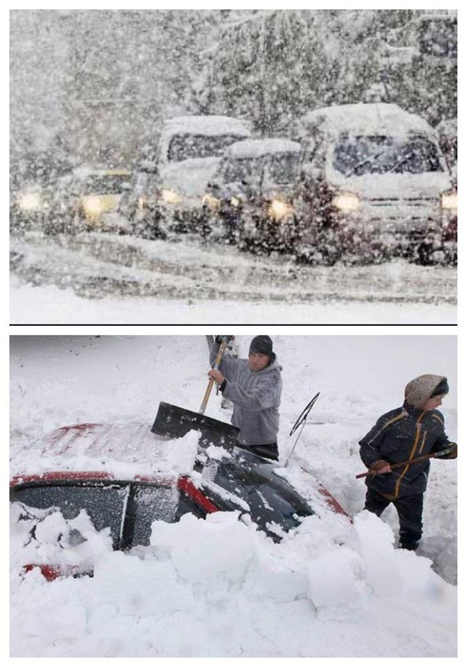Alertă meteo! Ninsori abundente în următoarele zile, se va depune strat consistent de zăpadă: