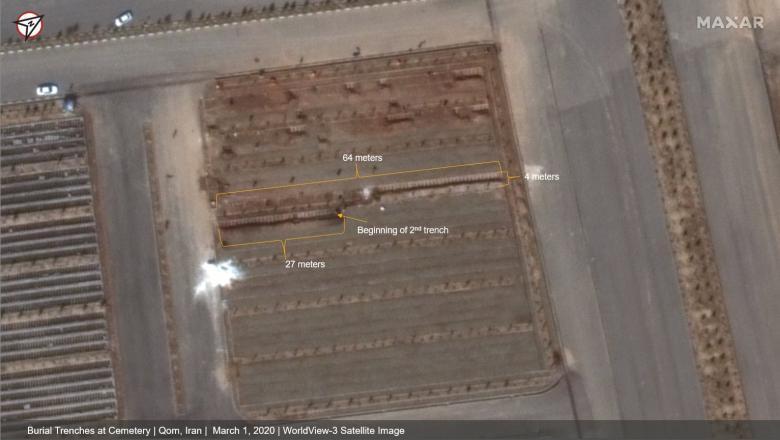 Iranul, acuzat că ascunde adevăratele efecte ale epidemiei de coronavirus. Ce arată imaginile din satelit