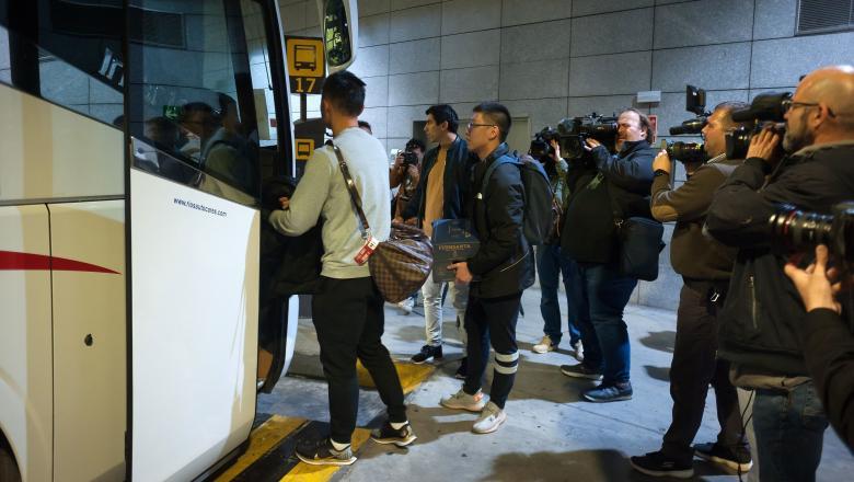 O echipă de fotbal din Wuhan pleacă din Spania de urgență, de teama coronavirusului