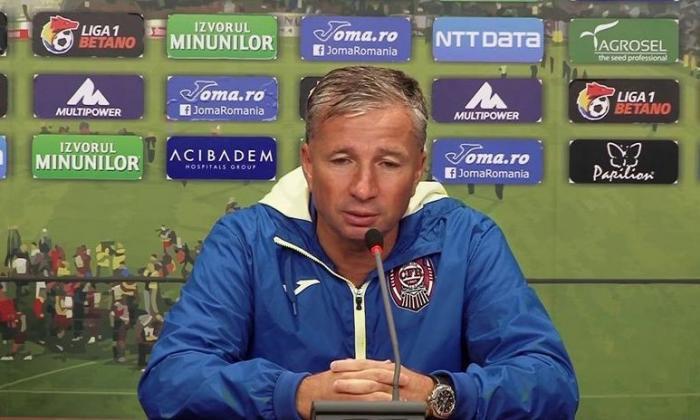 """Dan Petrescu, din nou supărat pe arbitri: """"Eu n-o să primesc niciodată, în România, penalty așa. E jenant!"""""""