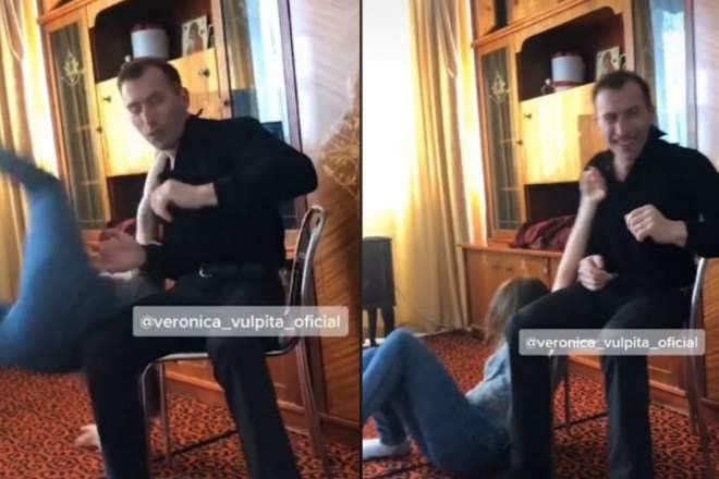 Scene șocante între soții Stegaru! A apărut filmarea pe care Viorel o vrea ștearsă! Ce a putut să-i facă Vulpiței in dormilor