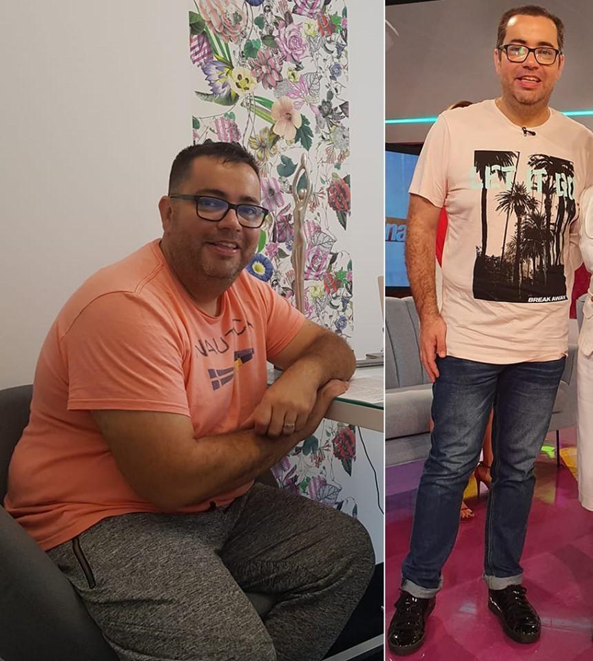 Popescu de la ZU a dezvăluit dieta cu care a slăbit 50 de kilograme