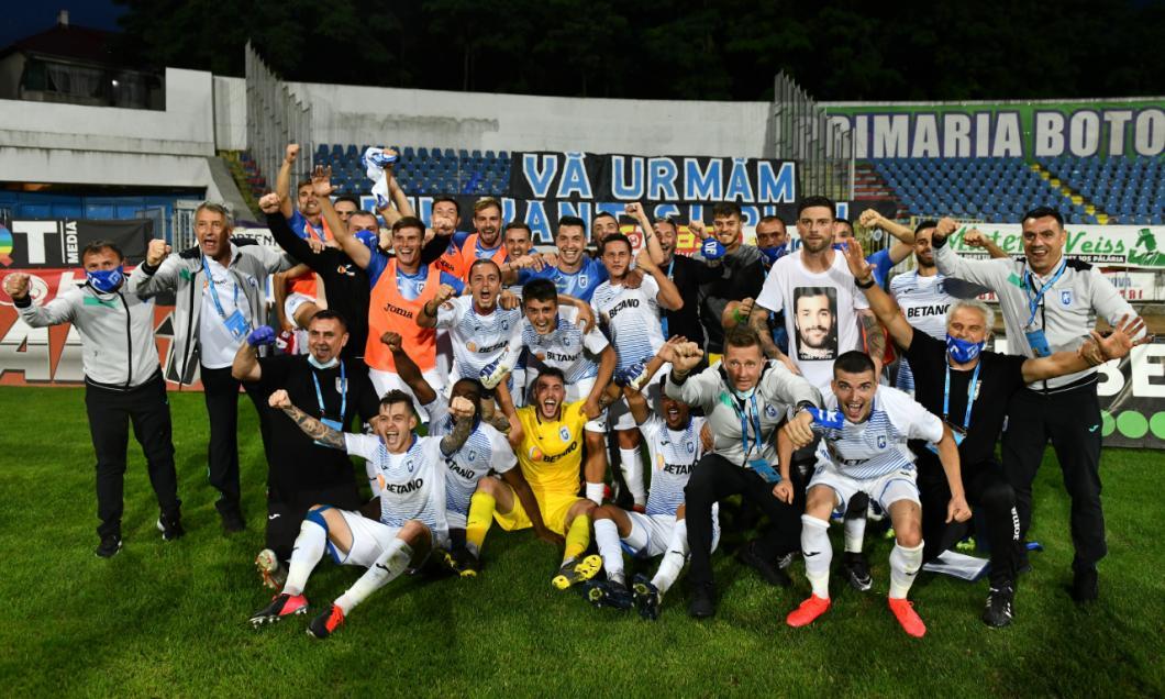 Sărbătoare în Bănie! Fotbaliștii Craiovei, întâmpinați de suporteri la revenirea de la Botoșani