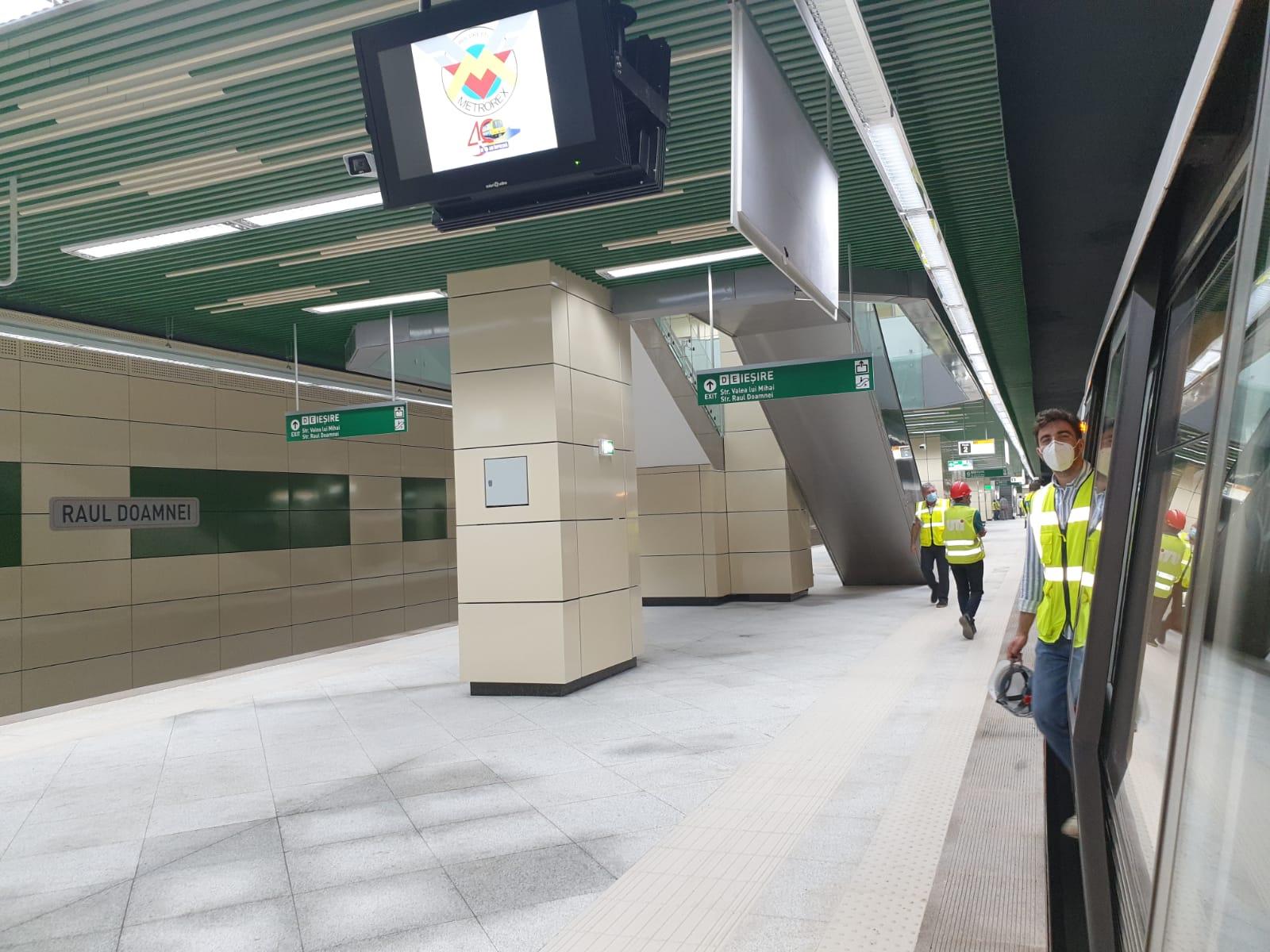 Cum arată Magistrala 5 din Drumul Taberei și care sunt cele 10 stații noi de metrou