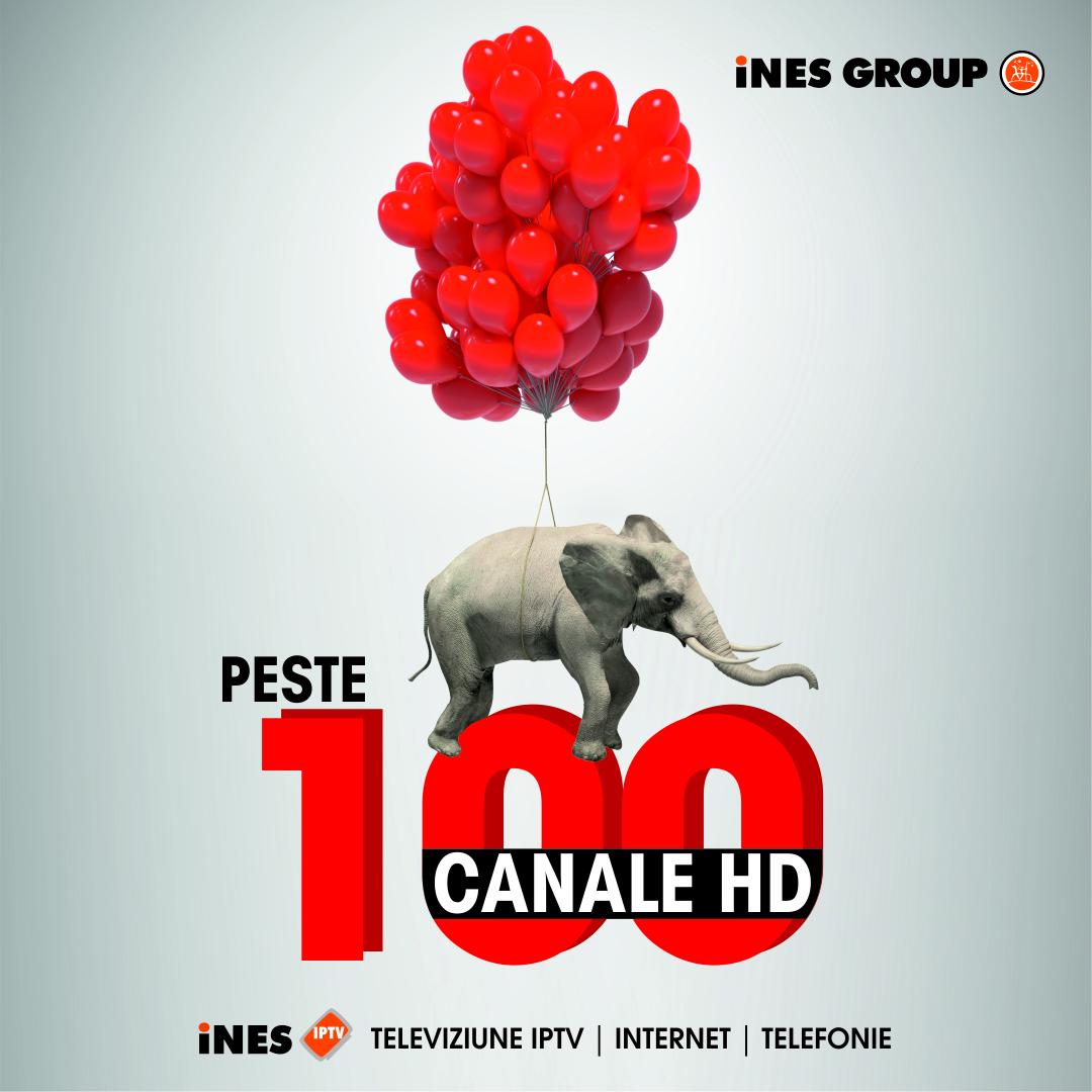 iNES GROUP, primul operator din România cu peste 100 de canale HD într-o grilă unică!