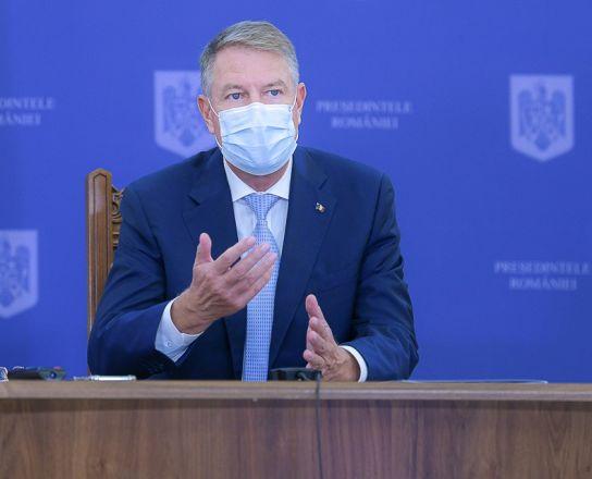 """Klaus Iohannis, declarații de ultima oră. """"Traversăm o perioadă extrem de dificilă pentru sistemul medical"""""""