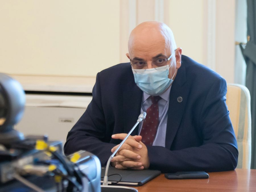 Secretarul de stat Raed Arafat s-a vaccinat anti-COVID