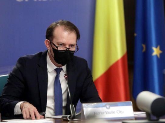 """Premierul Florin Cîțu exclude orice relaxare. """"Trebuie să avem răbdare în luna aprilie"""""""