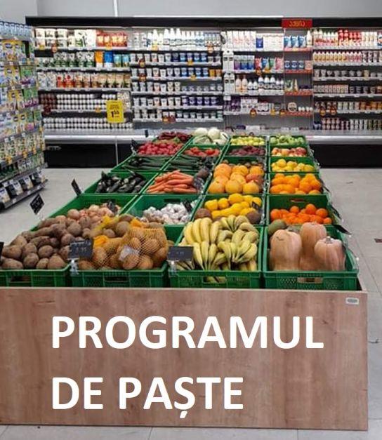 Program supermarketuri Paște 2021. Până la cât vor fi deschise magazinele în Vinerea Mare