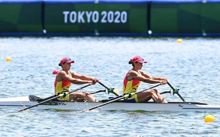 Prima medalie de aur pentru România la Jocurile Olimpice. Canotoarele Ancuța Bodnar și Simona Radiș au stabilit un nou record olimpic la Tokyo 2020