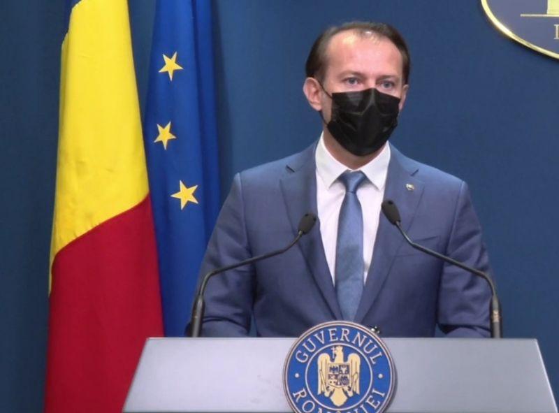 """Premierul Florin Cîțu a făcut anunțul: """"Starea de alertă se prelungește cu 30 de zile"""""""