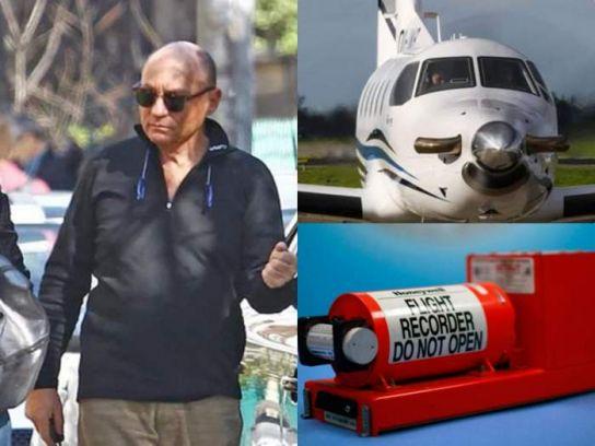 S-a descoperit cutia neagră a avionului prăbușit. Dan Petrescu ar fi cerut întoarcerea pe aeroport
